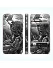 Виниловая наклейка для iPhone 4|4S Moses Breaks the Tables of the Law