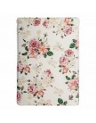Чехол Jisoncase PU для iPad 5 | Air Flowers retro